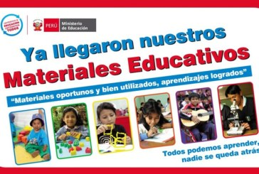 COMUNICADO DE MATERIALES EDUCATIVOS