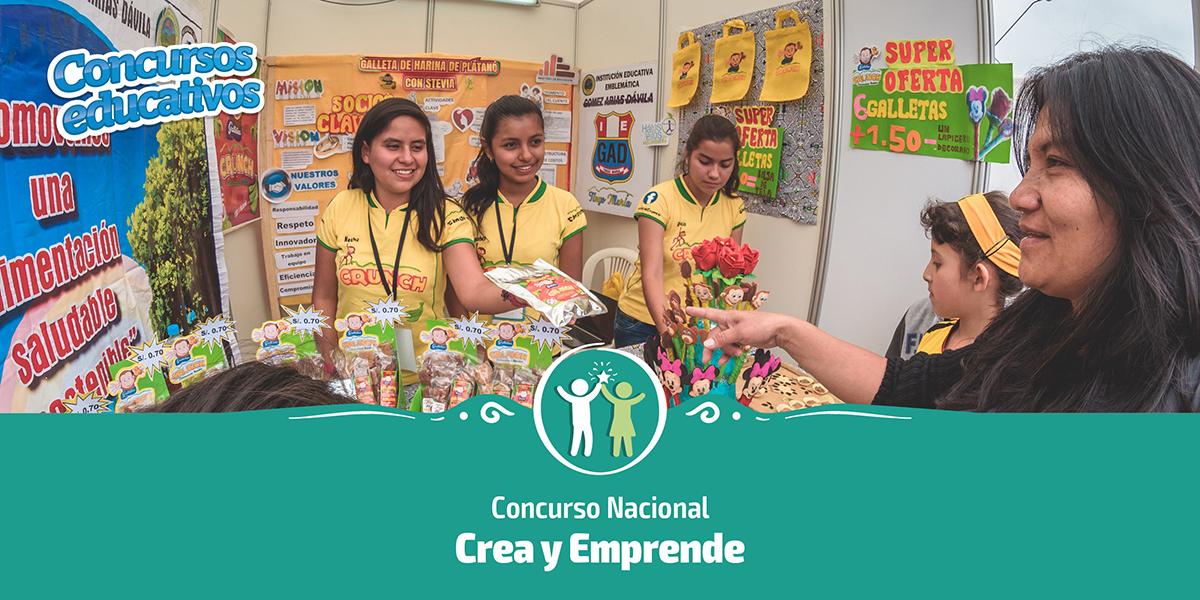 CONCURSO CREA Y EMPRENDE 2019