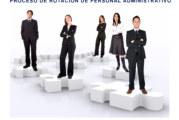 REPORTE DE PLAZAS VACANTES PARA EL PROCESO DE ASCENSO DE PERSONAL ADMINISTRATIVO