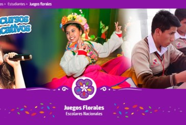 URGENTE: Inscripciones Juegos Florales en PERUEDUCA (hasta martes 20 de junio)