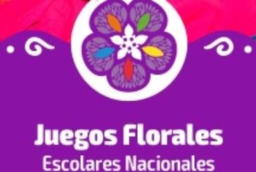 INSTRUCTIVO JUEGOS FLORALES NACIONALES ESCOLARES 2019