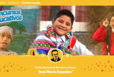 CONCURSO NACIONAL JOSÉ MARÍA ARGUEDAS – ETAPA UGEL