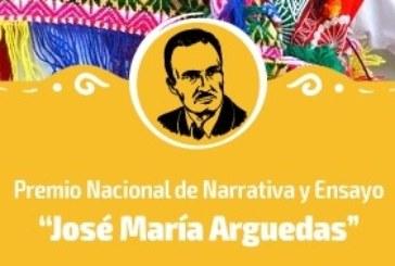 """COMUNICADO SOBRE EL """"PREMIO NACIONAL JOSÉ MARÍA ARGUEDAS"""""""