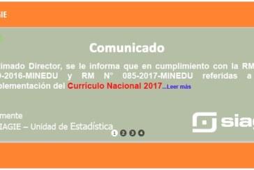 COMUNICADO SIAGIE Nº 02: INFORME DE PROGRESO DEL ESTUDIANTE (PRIMARIA)