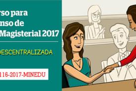 COMUNICADO ASCENSO DE ESCALA MAGISTERIAL 2017