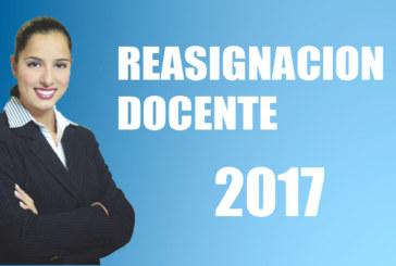 RESULTADOS PRELIMINARES DEL PROCESO DE REASIGNACION DOCENTE UGEL CHUCUITO – JULI 2017