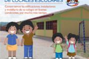 COMUNICADO MANTENIMIENTO DE LOCALES ESCOLARES