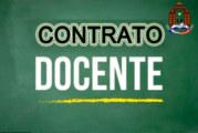 CONVOCATORIA CONTRATO DOCENTE