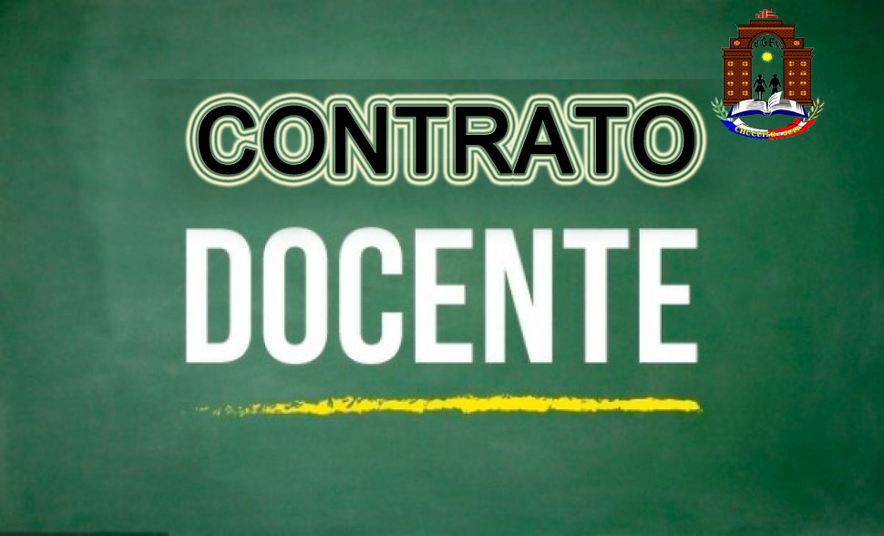 COMUNICADO Nº O3: CONTRATO DOCENTE 2019.