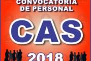 3º CONVOCATORIA DEL PROCESO CAS JEC-2018