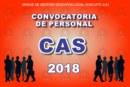 CONVOCATORIA PERSONAL CAS – RESULTADOS FINALES