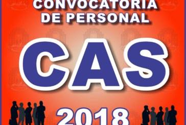 2° CONVOCATORIA CAS JEC 2018