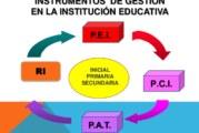 TALLER: IMPLEMENTACIÓN DE INSTRUMENTOS DE GESTIÓN ESCOLAR (PEI-PAT)