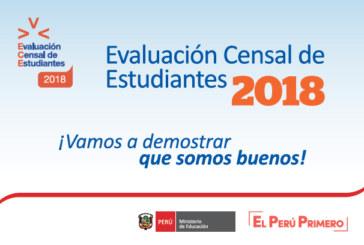 VALIDADO POR INEI – FECHAS DE APLICACIÓN DE LA ECE 2018 (según clasificación de las IIEE)