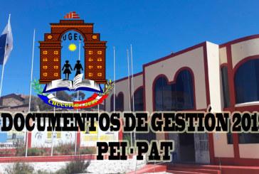 SIGE e Instrumentos de Gestión Educativa 2019.