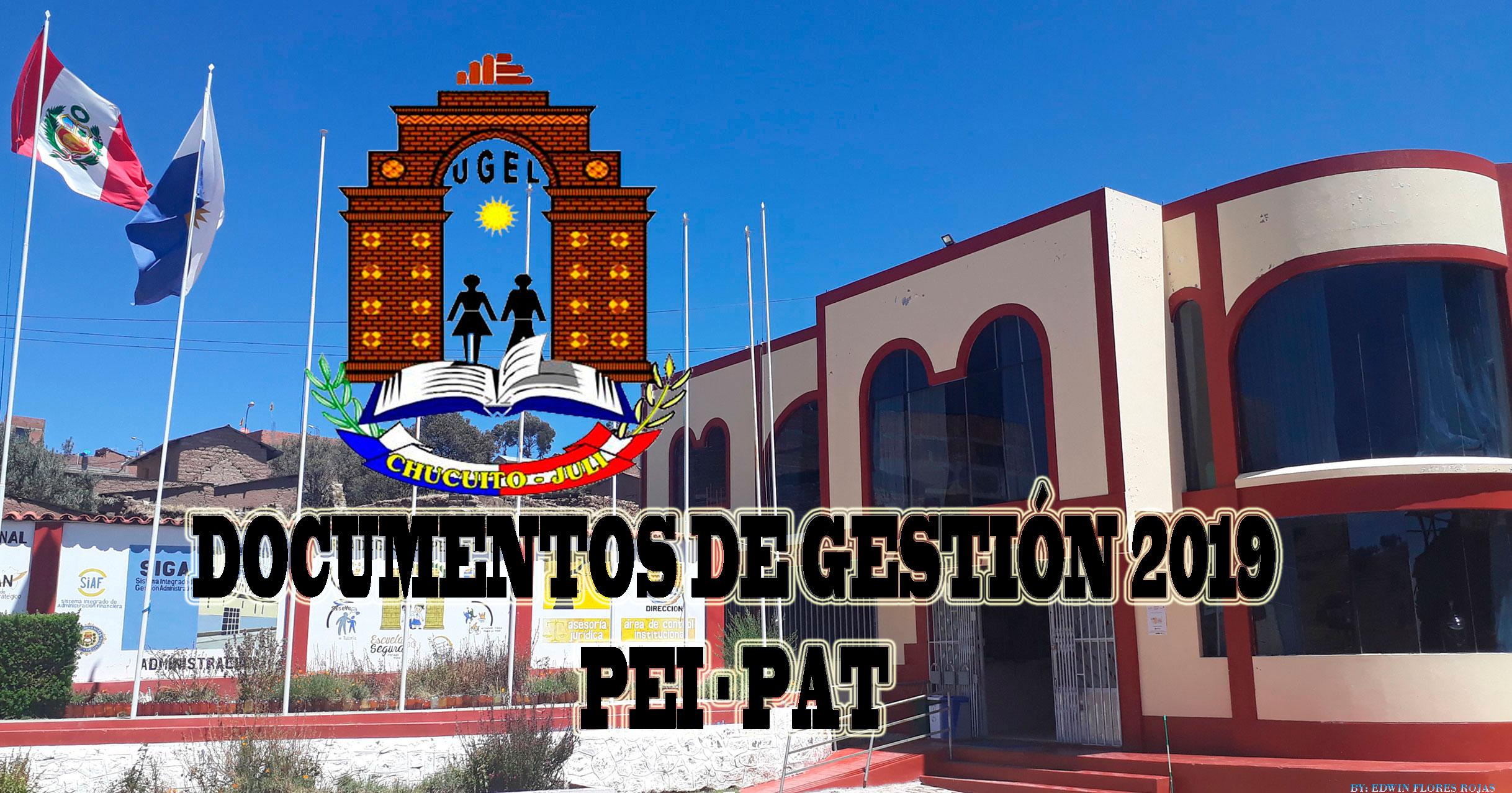 REMITIR PEI Y PROYECTO DEL PAT 2019 (INSTITUCIONES EDUCATIVAS CONSIDERADAS EN EL ANEXO 1 DEL PRESENTE)