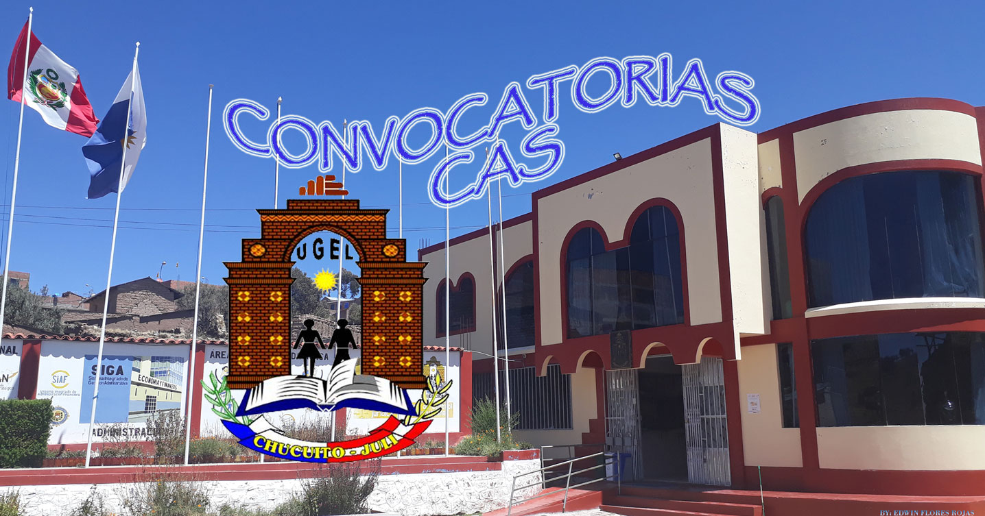 RESULTADOS FINALES – CONTRATO CAS JEC. 2019. 2da CONVOCATORIA