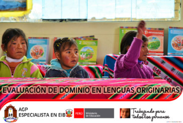 COMUNICADO DOCENTES APROBADOS PARA EVALUADORES EN LENGUA ORIGINARIA