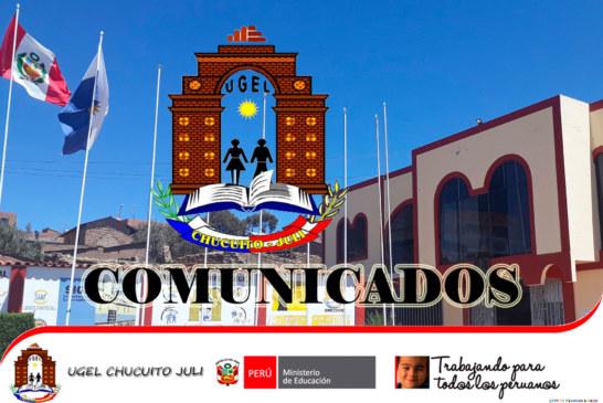 COMUNICADO PREVAED 2019 – TALLER