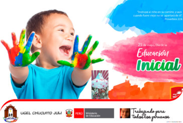 FELIZ 88° ANIVERSARIO DE LA EDUCACIÓN INICIAL
