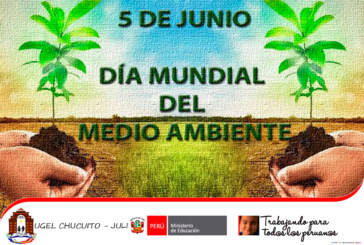 5 DE JUNIO – DÍA MUNDIAL DEL MEDIO AMBIENTE