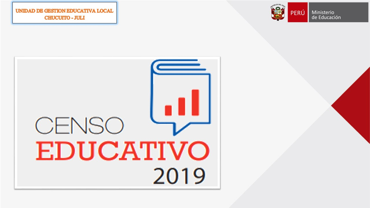 CENSO EDUCATIVO 2019 – COMUNICADO VII