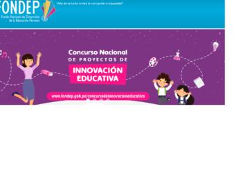 CONCURSO NACIONAL DE PROYECTOS DE INNOVACION EDUCATIVA