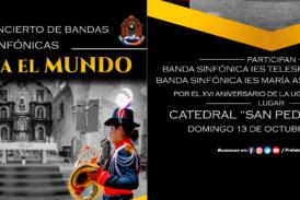 CONCIERTO DE BANDAS SINFÓNICAS «JULI PARA EL MUNDO»