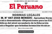 TALLER PARA IIEE SECUNDARIA DE FORMACIÓN TÉCNICA (SFT)