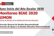 Reunión informativa sobre BIAE 2020