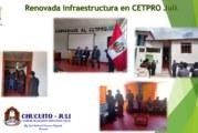 CETPRO JULI  MEJORANDO  SU INFRAESTRUCTURA PARA EL SERVICIO DE  LA POBLACION