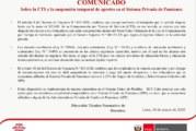 Sobre las CTS y suspensión temporal de aportes al SPP