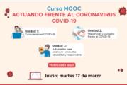 Minedu ofrece curso virtual para actuar frente al coronavirus en instituciones educativas