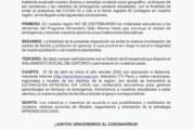 COMUNICADO: SOBRE ENTREGA DE MATERIALES Y ALIMENTOS DE QALI WARMA