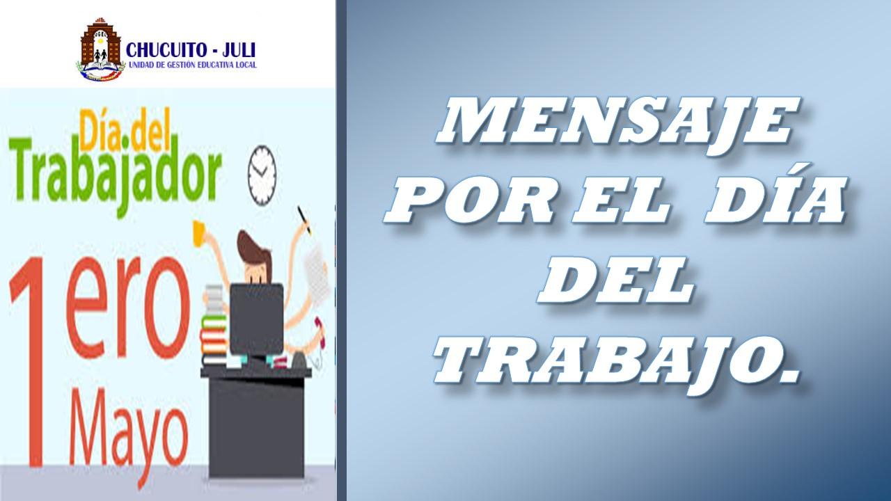 1° DE MAYO- 2020