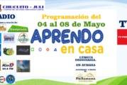 PROGRAMACIÓN, RADIO,TV  E IDIOMA AYMARA – SEMANA 5(04-08 MAYO)