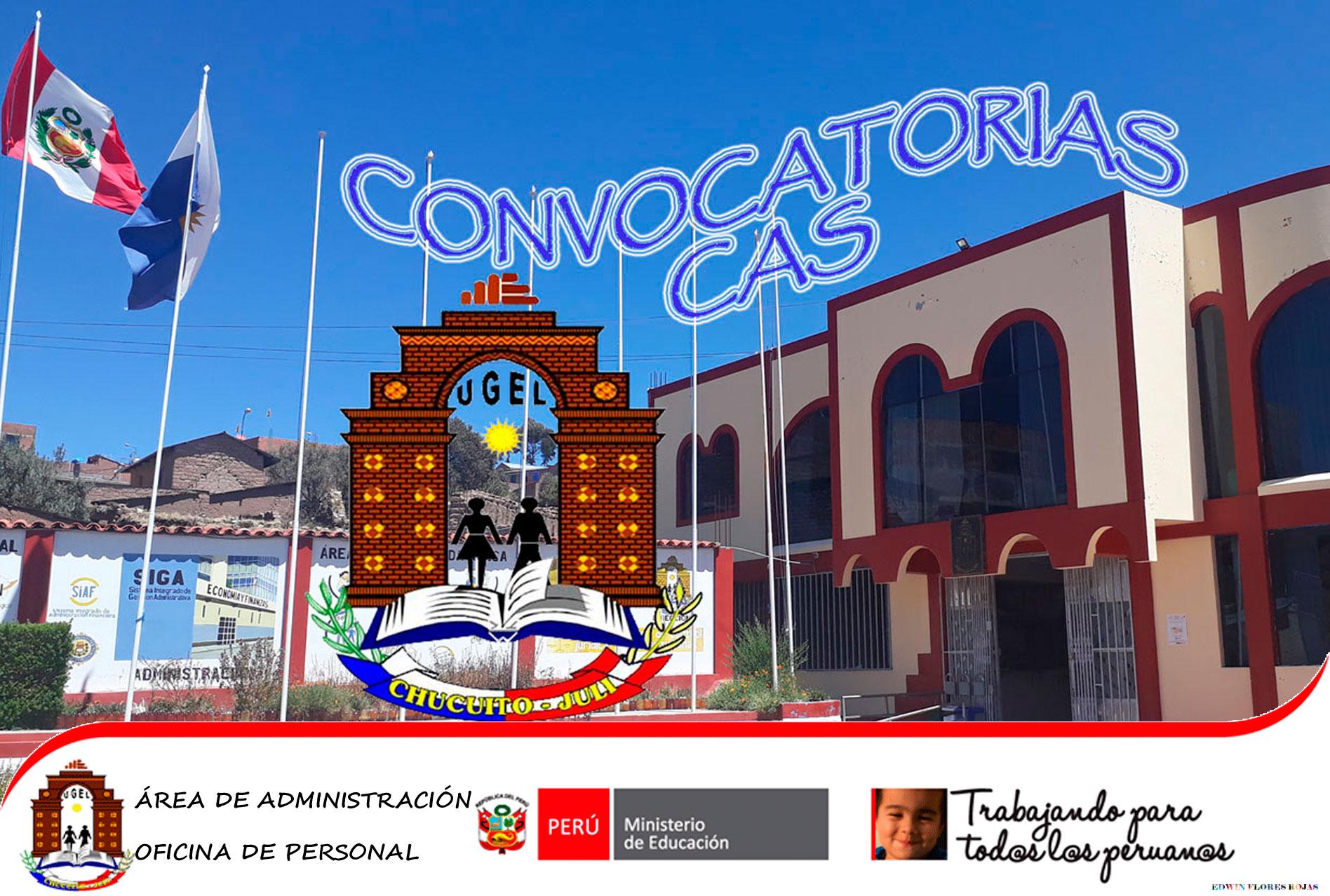 Resultados preliminares CAS 2020 – 4° convocatoria