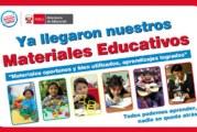 CRONOGRAMA – DISTRIBUCIÓN DE MATERIAL EDUCATIVO DEL MINEDU – SEGUNDO TRAMO