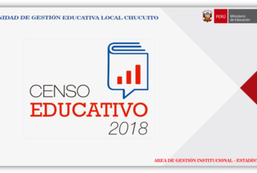 CAPACITACIÓN CENSO EDUCATIVO 2018 – MODULO I
