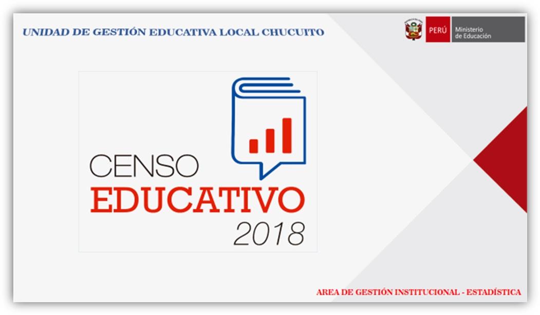 CENSO EDUCATIVO 2018 – PRE OMISOS DE LA CÉDULA «A»: INICIAL, PRONOEI, PRIMARIA, SECUNDARIA, CEBA Y CETPRO