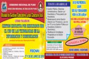 COMUNICADO SEDE DEL CURSO TALLER: GESTIÓN EDUCATIVA POR RESULTADOS CON EL USO DE LAS TECNOLOGÍAS DE LA INFORMACIÓN Y COMUNICACIÓN