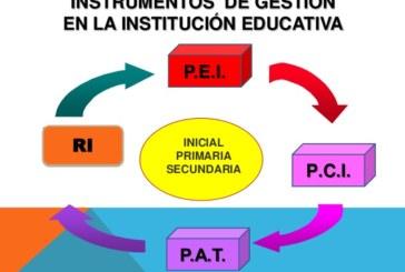 Instrumentos de Gestión PEI – PAT.