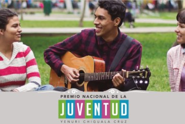 """PREMIO NACIONAL DE LA JUVENTUD """"Yenuri Chiguala Cruz"""""""