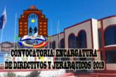 COMUNICADO N° 008 – ENCARGATURA DE CARGOS DIRECTIVOS PARA EL AÑO ESCOLAR 2019. ETAPA II – PRIMER TRAMO