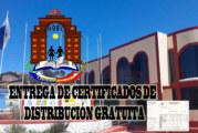 COMUNICADO A DIRECTORES – ENTREGA DE CERTIFICADOS GRATUITOS.