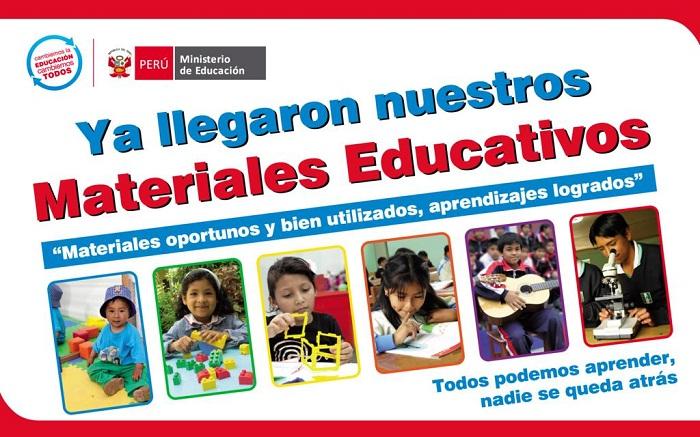 REDISTRIBUCIÓN DE MATERIALES EDUCATIVOS – ALMACÉN
