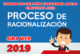 PROCESO DE RACIONALIZACIÓN 2019 – DOCENTES EXCEDENTES PENDIENTES AL ACTO PUBLICO Y PLAZAS
