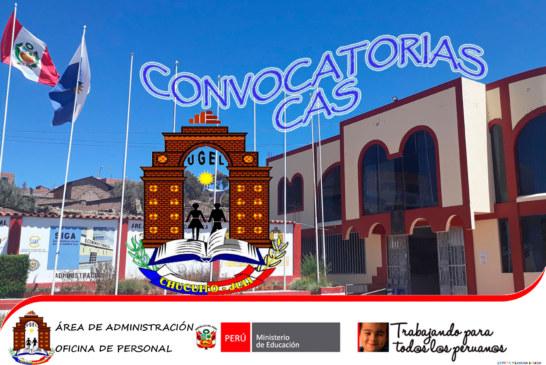 CONVOCATORIA: CONTRATO CAS. INTERVENCIONES PP 0090 – PSICÓLOGO 2019