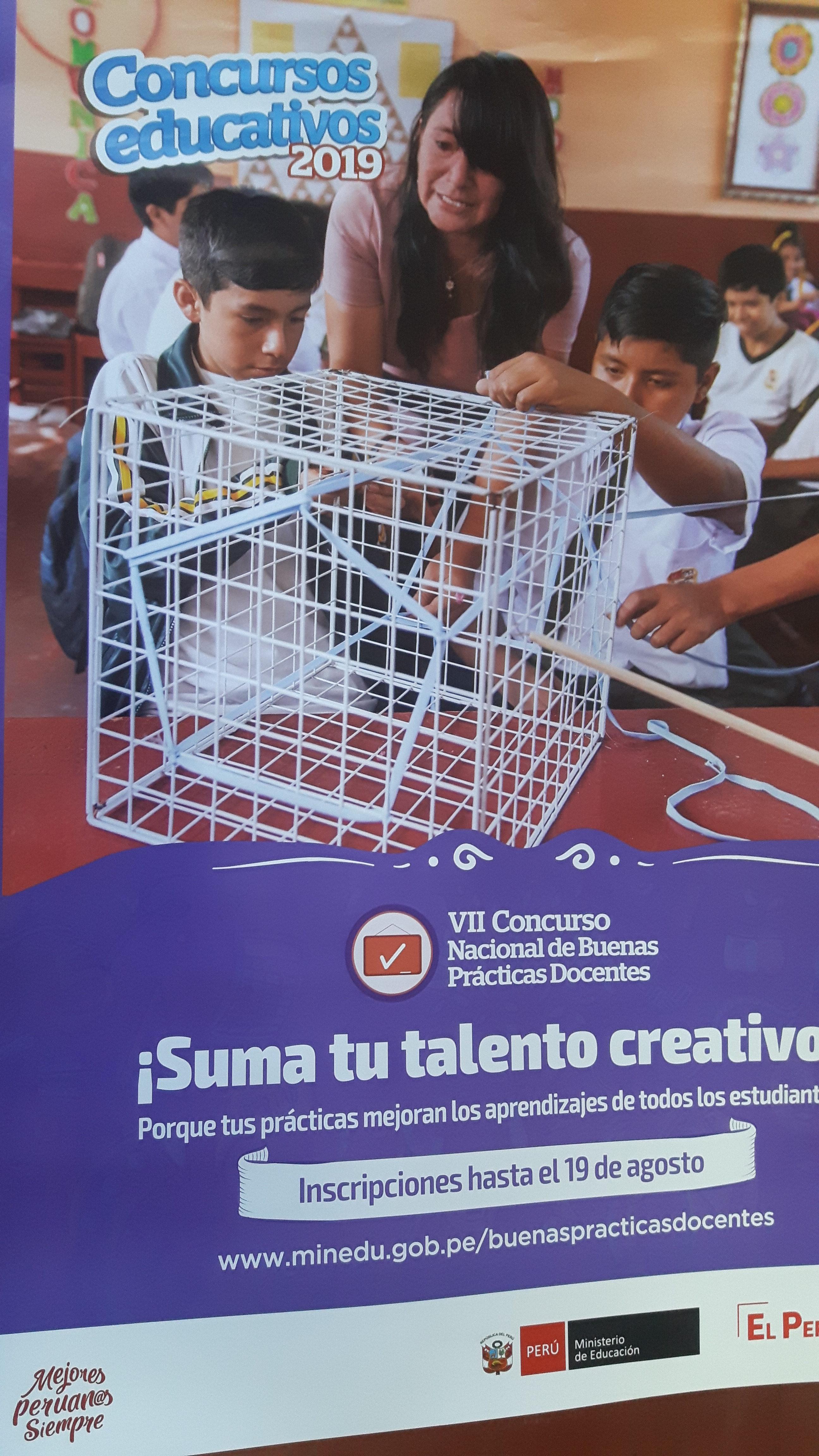 VII CONCURSO NACIONAL DE BUENAS PRACTICAS DOCENTES