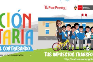 «Semana de la Educación Tributaria y lucha contra el contrabando»